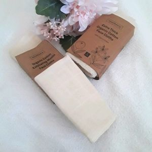 FACETHEORY ORGANIC COTTON WASH FACE CLOTHS